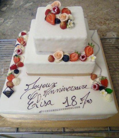 Commander un gâteau d'anniversaire sur mesure dans une pâtisserie chocolaterieartisanale à Blanzy