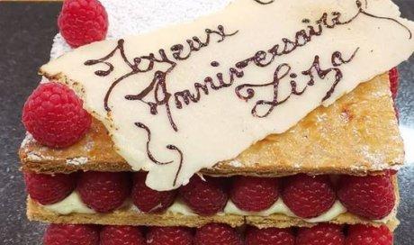 Gâteau d'anniversaire à Blanzy