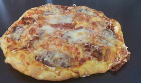 Pizza à emporter à Blanzy