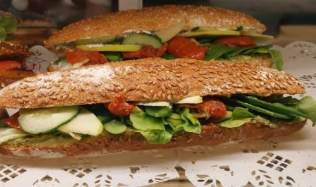Sandwich à emporter à Blanzy
