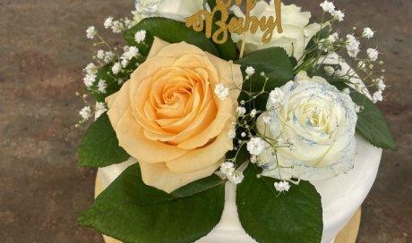 Patisserie Rizet wedding cake baby shower