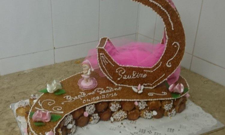 Artisan pâtissier pour la création d'une pièce montée sur mesure à Blanzy